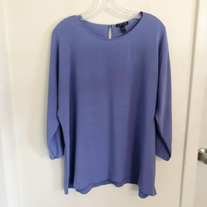 Eileen Fisher | 100% Silk Tunic Periwinkle